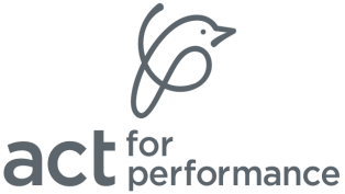 act for performance logo